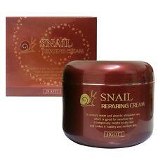 JIGOTT Facial Skin care Snail Reparing Cream 3.5Oz Anti-Wrinkle Nutritious