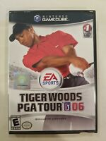 Tiger Woods PGA Tour 06 2006 (Nintendo GameCube, 2005): Complete TESTED FREE S/H