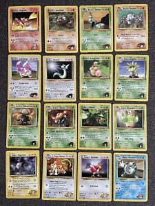 Gym Heroes Near Complete Common/Uncommon Card Set - 72 Cards