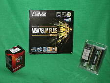 COMBO AMD FX 8320e 4GHz Processor 16GB DDR-3 RAM ASUS M5A78L-M+ Motherboard