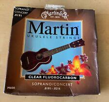 Cf Martin M-600 Soprano Concert Ukulele Strings New! Old Stock!