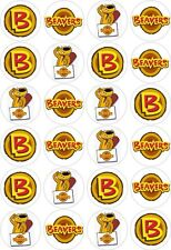 24 Beaver Cub Scouts Cupcake Fairy Cake Toppers Edible Rice Wafer Paper
