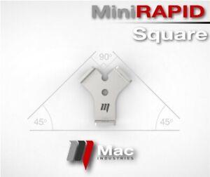 90° & 45°  MiniRapid Square Welding 100mm Weld Clamp Speed Weld Table Modular