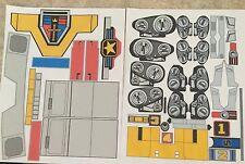 Traditional Yellow Voltron Golion Shogun Warrior Sticker Decals - VINYL