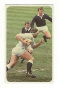 Robinson's Rugby Union Card. Bill Beaumont, England vs Scotland 1982