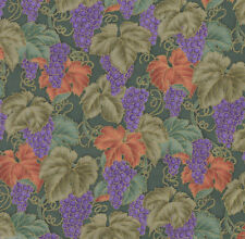 Campagna Countryside Grapes Quilt Fabric - Free Shipping - 1 Yard