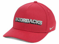 Arkansas Razorbacks Nike NCAA Local DNA Verbiage Swoosh Flex Cap NWT 1 Size Hat