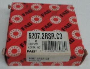 New FAG 6207 C3 (14I4-086)
