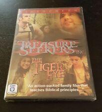 Treasure Seekers Inc.: The Tiger Eye (DVD, Widescreen) Christian family film NEW