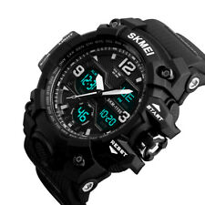 SKMEI Men's Style Sports Military Digital Analog LED Shock Quartz Wrist Watch US