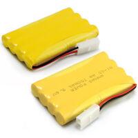1/2 PCS 9.6V 700mAh RC Ni-Cd Tamiya Plug AA Toy Car Rechargeable Battery Pack