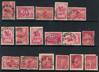 Pre decimal Kgv 2d kgv's CDS * POSTMARKS *CANCELS * NEW SOUTH WALES * NSW  x17