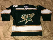 Iowa Stars AHL Ice Hockey Reebok Jersey Youth Sz S/M *Used*