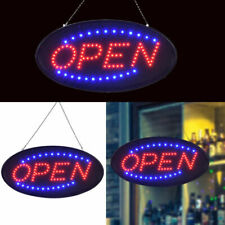 "Bright Animated Led Open Store Shop Bar Business Sign 19x10"" Neon Lights Show Us"