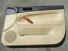 Cuir panneau de porte avant droit vw passat 3bg w8 revêtement beige soleil beige