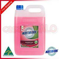 NORTHFORK Disinfectant Deodoriser Sanitiser Sanitising - Pink - 5 L