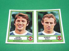 PANINI EURO FOOTBALL 78 N°199 PIRKNER SARA ÖSTERREICH AUTRICHE 1977-1978