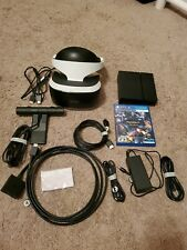 Sony PlayStation VR Headset CUH-ZVR1 Bundle Great Condition - Includes Camera