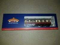 OO Gauge Bachmann 39-578 Auto Trailer BR Crimson & Cream Coach boxed