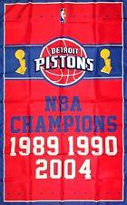 New listing Detroit Pistons Nba Championship Flag 3x5 ft Sports Banner Vertical Man-Cave Bar