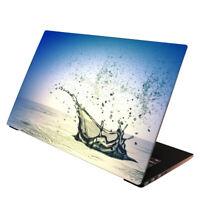 Laptop Folie  Aufkleber Schutzfolie für Notebook Skin Wassertropfen 13-17 Zoll