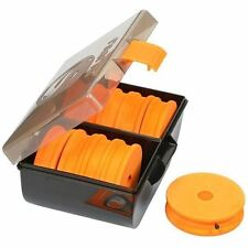 Guru NEW Coarse Fishing Rig Box + 10 EVA Spools *Feeder, Float, Pole & Zig Rigs*
