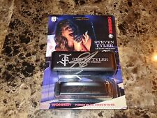 Steven Tyler Rare Signed Signature Model Harmonica Aerosmith Classic Rock Photo