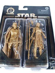 "Disney Star Wars Kylo Ren & Rey 3.75"" Skywalker Saga Action Figure Set Hasbro"