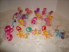 My Little Pony McDonald's Lot of 19 - 6 Have Backpack Clips on them