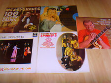 Collection of LPs - Spinners, Seekers, Max Bygraves, Val Doonican, Jim Reeves
