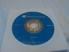Microsoft WINDOWS SERVER 2012r2 STANDARD w/ 5 CAL'S W/ORIGINAL DISK OR USB