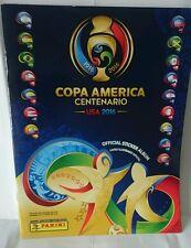 PANINI 2016 COPA AMERICA CENTENARIO  64 PAGE ALBUM BRAZIL EDITION