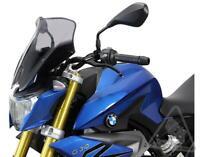 MRA Motorcycle Windscreen For BMW G310R '17-19  | NRM Racing Screen - Smoke Grey
