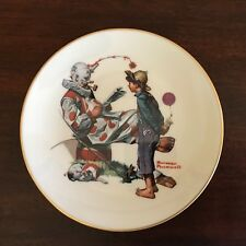 Norman Rockwell Plate~Circus Clown