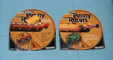 vintage Takara Penny Racers PENNY RACERS PET VETTE & CRUISER BRUISER MOC lot