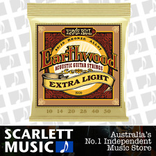 Ernie Ball Earthwood 2006 80/20 10-50 Extra Light Acoustic Guitar Strings *NEW*