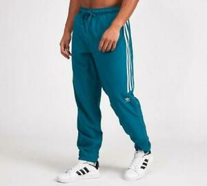 Mens Adidas Skate Woven Classic Pants Teal (PA1) RRP £59.99