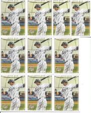 EVAN LONGORIA 2008 UD MASTERPIECES #7 NICE (10) CARD ROOKIE LOT TAMPA BAY RAYS