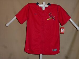 ST. LOUIS CARDINALS Nike FitDry JERSEY Youth XL NWT red $50 retail