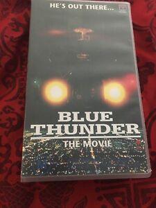 BLUE THUNDER- THE MOVIE - ROY SCHEIDER 1983 VIDEO VHS