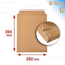 50 Enveloppes/pochettes carton rigide 292x374  B-Box 6