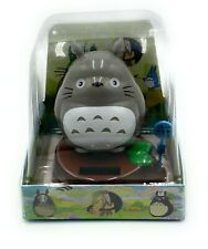 New Solar Powered My Neighbor Totoro Gray Bobblehead Toy Home Office Car