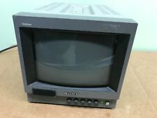 "Sony Trinitron PVM-8040 8"" CRT Security/Video Editing Monitor"