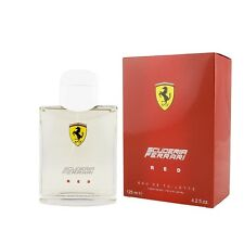 Scuderia Ferrari Red For Men Eau de Toilette Spray 4.2oz 125ml * New in Box Seal