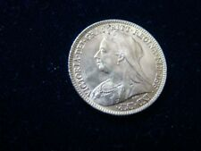 1900 Victoria Old Head 22ct Gold Half Sovereign