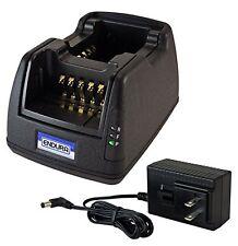 Power Products Dual Unit Rapid Charger for Harris P7300, XG15, XG25, XG75 Radios