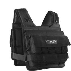 20 Lb Adjustable Weighted Vest Regular Waist Belt Padded Shoulder Strap Flexible