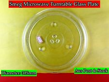 Smeg Microwave Oven Spare Parts Glass Turntable Plate Platter (W15) Brand New