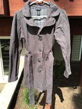 Self Esteem Women's Juniors Size Large L Long Grey Coat
