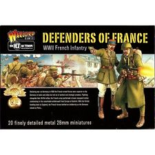 Warlord Games - Bolt Action - Defenders of France (WWII French infantry) - 28mm
